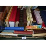 A box of books to include Travel in a old Tongue, Edinburgh, The British Isles etc.