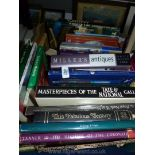 A box of books to include Dylan Thomas, Kings & Queens etc.
