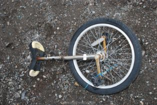 """A Unicycle with a 20"""" wheel."""