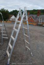 A pair of metamorphic steps/ ladder.