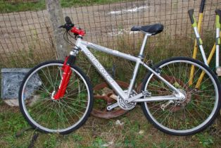A Marin County Palisades trail 21 speed push bike, gear a/f.