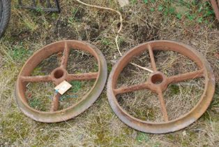 Two Cambridge roller rings.