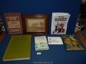 A small quantity of Railwayana including books 'Model and Miniature Railways',
