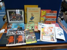 A small quantity of books including 'Model Stationary Engines', boxing,