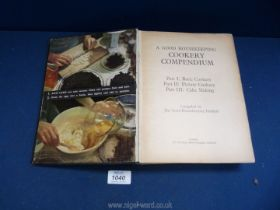 A copy of 'A Good Housekeeping Cookery Compendium', with some annotations.