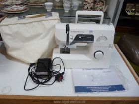 An electric Frister & Rossmann sewing machine; model no: 761.