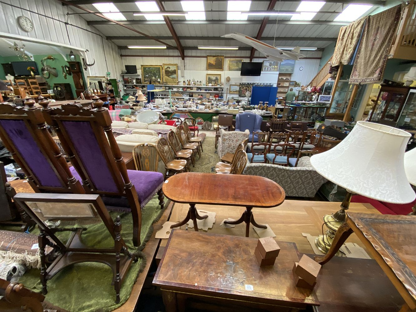 Online Only Late September Auction of Miscellaneous Objets d'Art, Collectables, Porcelain, Glass, Antique & Country Furniture