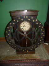 An early 20th century International Time Recording Co. Ltd. London wheel.