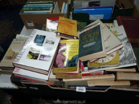 A quantity of novels and autobiographies to include; Rudyard Kipling, Paul O'Grady, Kate Aide, etc.