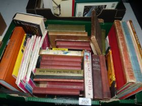 A quantity of books to include; Harry Potter, Jackson's Medical Guide,