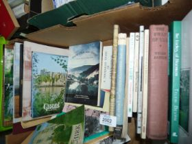 A quantity of books to include; Skenfrith's Lady of Letters, Shropshire a Portrait in Colour,