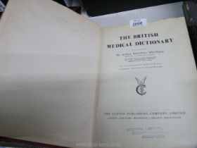 A copy of The British Medical History,