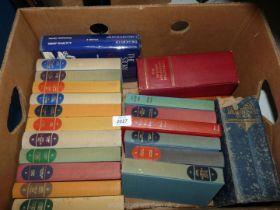 A quantity of The Companion Book Club Novels, The Story of Carmarthenshire, etc.