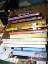 A quantity of books to include; Outdoor feasts, Dinner party book, Cologne, Hanover, etc.
