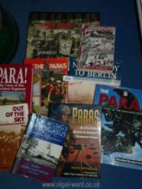 A quantity of Military Books to include; Cordon and Search with 6th Airbourne Division in Palestine,