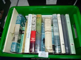 A quantity of books on sea fishing to include; Modern Sea Fishing, Sea Angling, Underwater Hunting,