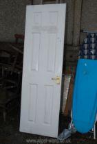 A single 2' interior door.