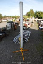 110v Fluorescent Site fitting on tripod base.