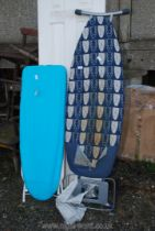 Two ironing boards.