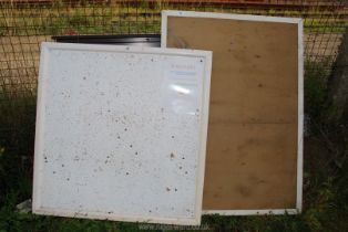Two pin boards.