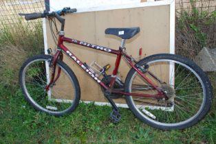 15 speed Raleigh Mountain bike.
