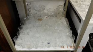 A qty of glassware inc.