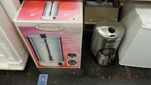 A Phoenix catering urn and other appliance