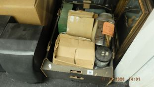 A box of tools etc.