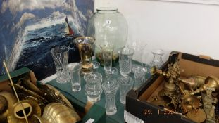 A qty of Waterford and other glassware