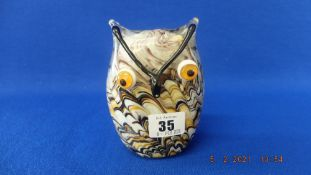 A Murano figure of an Owl