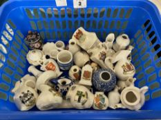 Thirty pieces of Crest china etc.