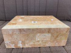A marble box