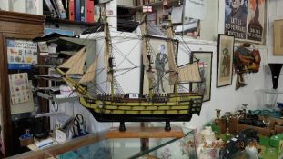 A model of HMS Victory