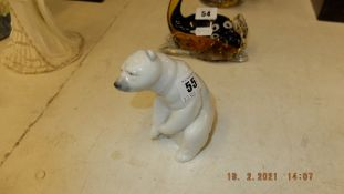 A Lladro Polar bear,