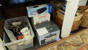 A qty of kitchen equipment etc.