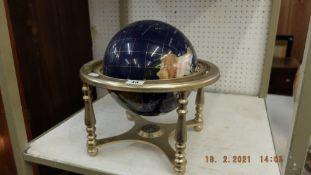 A decorative globe