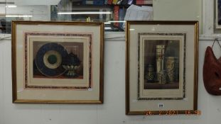 Two framed and glazed 'Vitreous Art' prints inc.