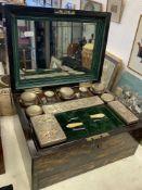 1900 gents vanity case,