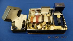 A qty of assorted watches