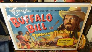 Two 1950's western film posters,