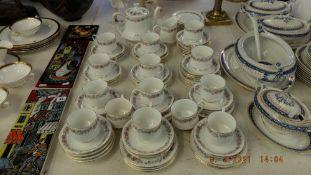 A Paragon 'Belinda' tea set, approx.