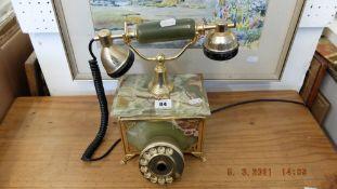 An Onyx telephone