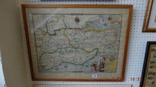 An early copy of map of Essex