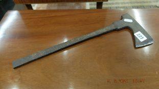 An unusual metal axe