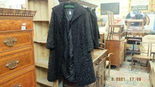 Beaver Lamb coat