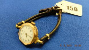 A vintage ladies Rolex