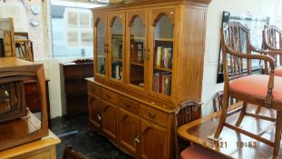 A good quality Rosewood display cabinet;