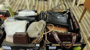A qty of handbags