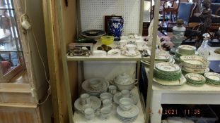 A qty of assorted China and oddments