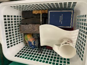 Four collectible pieces; Halycon days, Wedgewood etc.